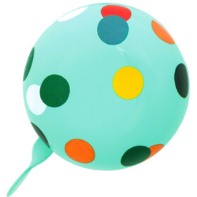 URBAN PROOF Ding Dong Bell 8cm, confetti dots mint